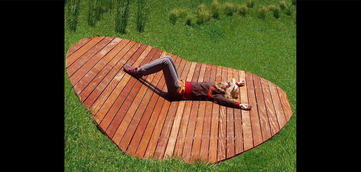 deck madera pinamar