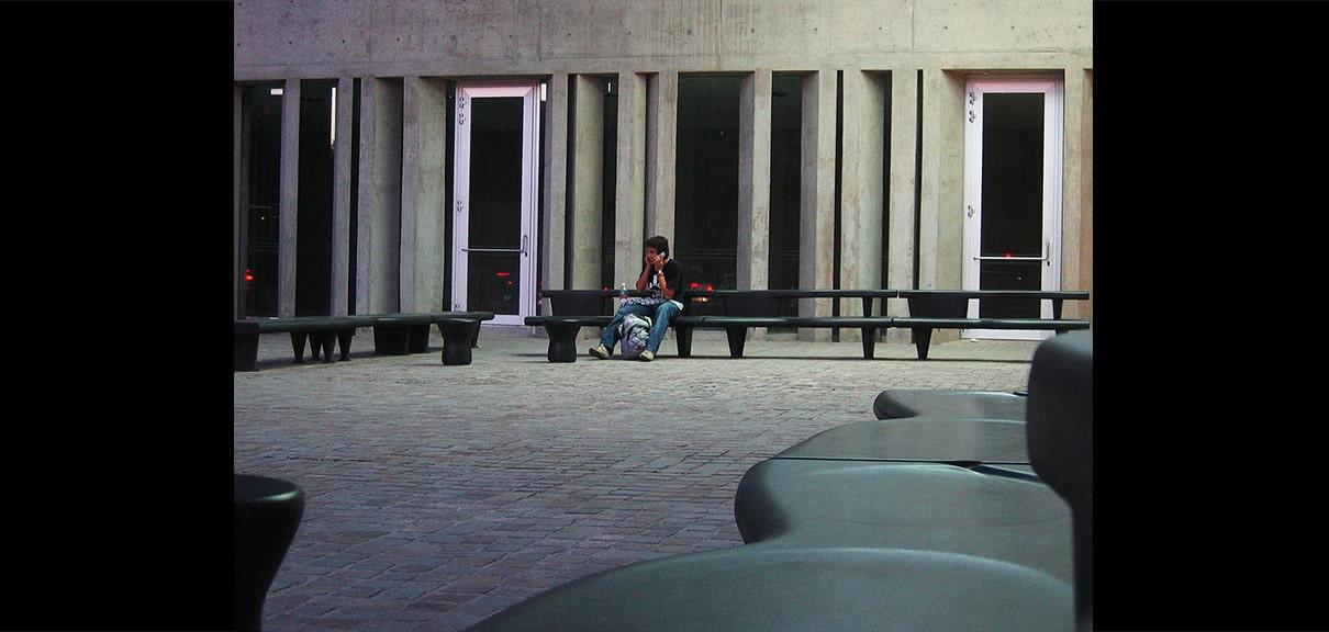 asientos diseño cemento