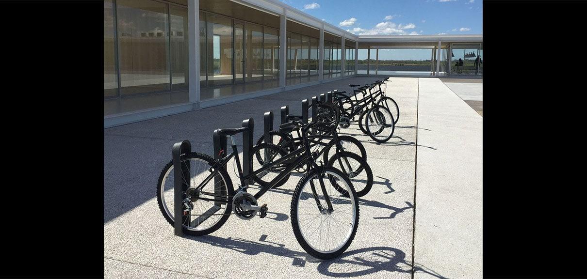 bicicletero ciudad diseño