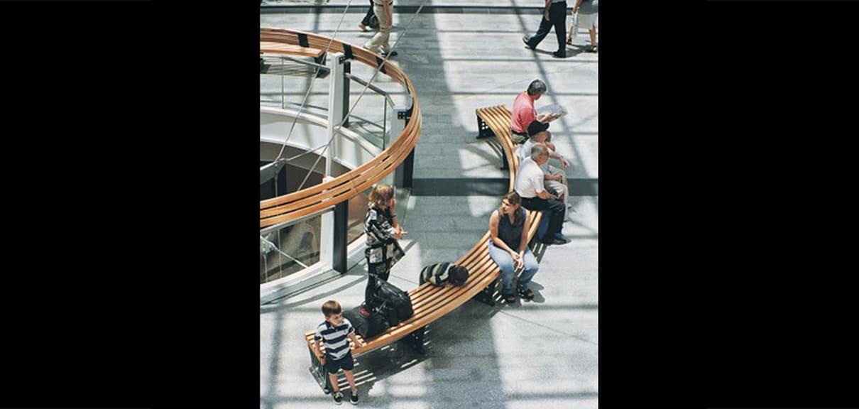 mobiliario urbano moderno
