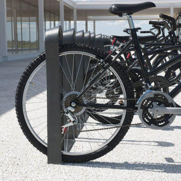 bicicletero hierro diseño