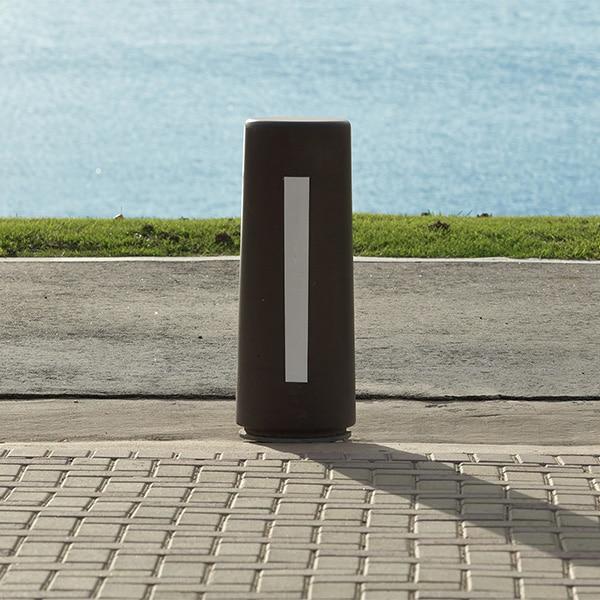 bolardo cemento diseño