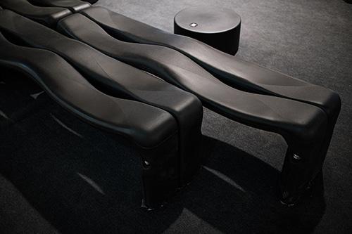 asientos de plaza modernos
