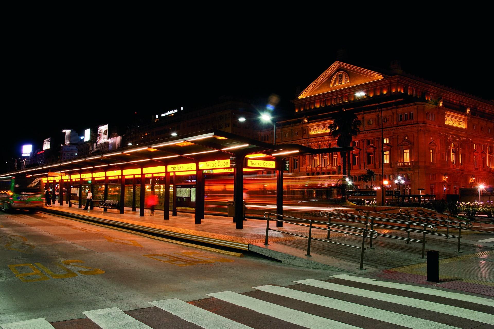 metrobus noche porteña